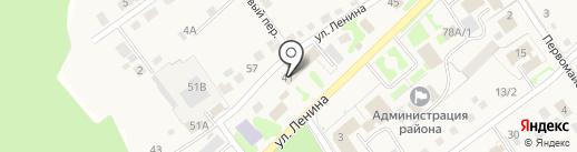 Почтовое отделение на карте Белого Яра