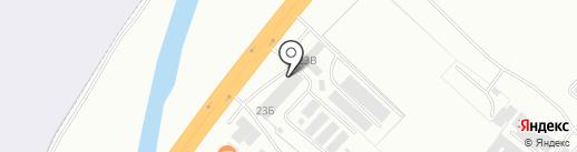 Автомагазин запчастей для МАЗ, ЯМЗ, ЯЗДА на карте Абакана