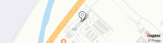 БайкалСтройКомплект на карте Абакана