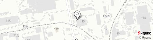 Автосервис кузовного ремонта на карте Абакана