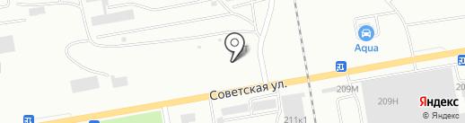 Установочный центр на карте Абакана