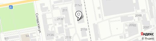 Дом на карте Абакана