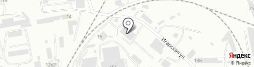 ДорСтройТехника на карте Абакана