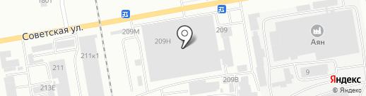 Шинтоп-Сервис на карте Абакана