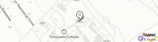 БЕТОН-СЕРВИС на карте Абакана