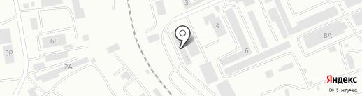АрХагрупп на карте Абакана