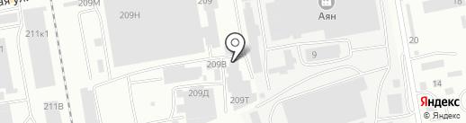 Экстрим на карте Абакана