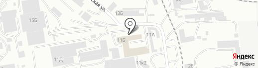Магазин продуктов на карте Абакана