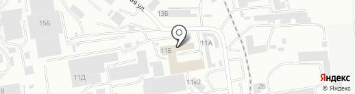 виДом на карте Абакана