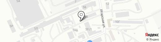 Арсенал Строй на карте Абакана