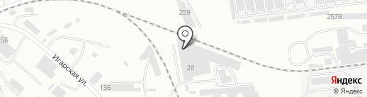 БытХим на карте Абакана