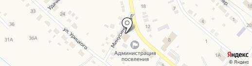 Росгосстрах банк, ПАО на карте Усть-Абакана