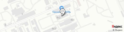 КлиматПрофиль на карте Абакана