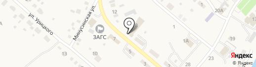 Буха рест на карте Усть-Абакана