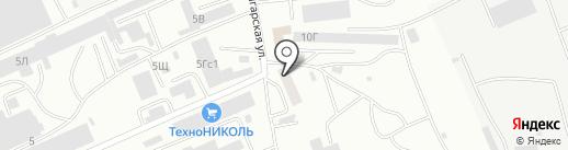 DPD на карте Абакана