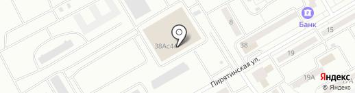 Военторг на карте Абакана