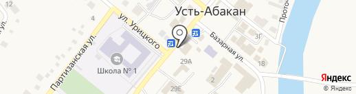 Tele2 на карте Усть-Абакана
