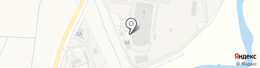 Абаканский Завод Каркасного Домостроения на карте Усть-Абакана