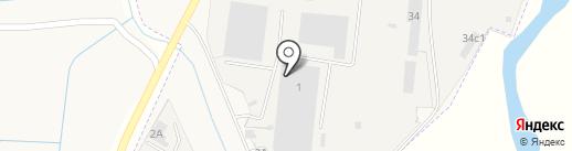 Шанти-Тент на карте Усть-Абакана