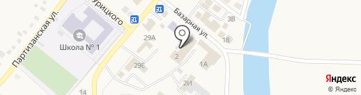 Самара на карте Усть-Абакана