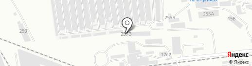 ГЛОНАСС Саяны на карте Абакана