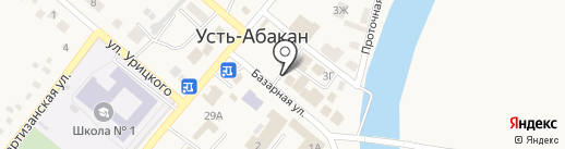 Центрофинанс Групп на карте Усть-Абакана