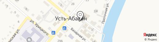Губернский хлеб на карте Усть-Абакана