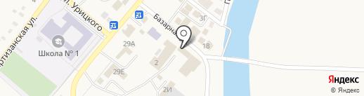 Магазин хозтоваров на карте Усть-Абакана