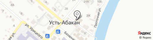 Юридическая практика на карте Усть-Абакана