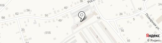 Рэдвуд на карте Усть-Абакана