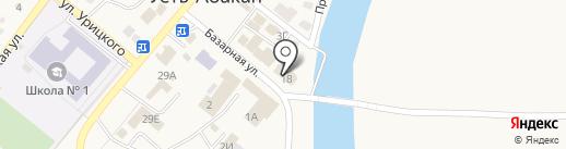 Дашенька на карте Усть-Абакана