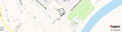 Магазин тканей и трикотажных изделий на карте Усть-Абакана