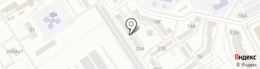 Маяк на карте Абакана