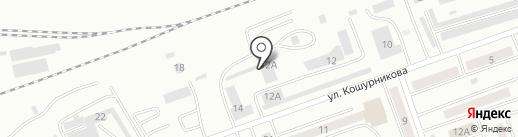 Квазар на карте Абакана