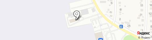 Абакан Эйр на карте Калинино