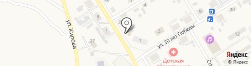 Магазин автозапчастей на карте Усть-Абакана