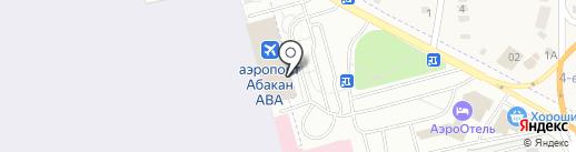 Магазин этно-сувениров на карте Абакана