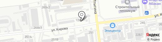 СТК на карте Абакана