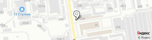 Инструментъ на карте Абакана