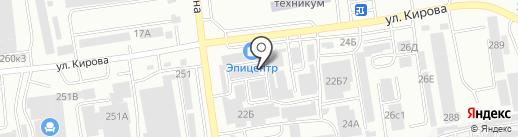 АбаканХозБыт на карте Абакана