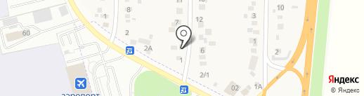 Раздолье, магазин продуктов на карте Калинино