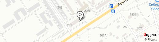 АБАКАН PROFILDOORS на карте Абакана