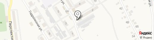 Магазин промышленных товаров на карте Усть-Абакана