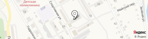 Мясной дворик на карте Усть-Абакана