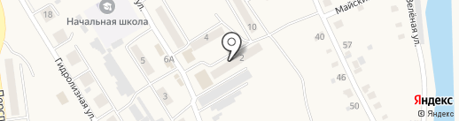 Якорь на карте Усть-Абакана