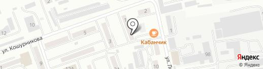 Лайм на карте Абакана