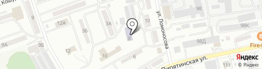 Православная гимназия им. Святителя Иннокентия Московского на карте Абакана