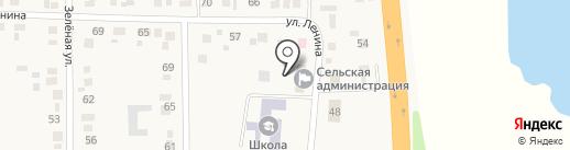 Администрация Калининского сельсовета на карте Калинино