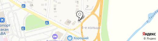 Магазин автозапчастей на карте Калинино