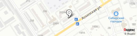 Умочка на карте Абакана